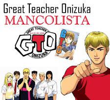GTO, GTO young, SHONAN JUNAI GUMI - Mancolista - MANGA DYNIT - NUOVI