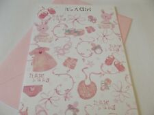 It's A Girl...........Congratulations New Baby Greetings Card