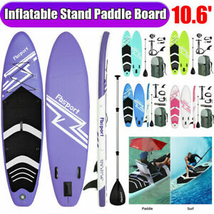 10.6' Inflatable Stand Up Paddle Board SUP Surfboard with complete kit Fbsport