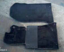 Mercedes Benz W124 Satz schwarz Teppich Fußmatten 1246801740  1246801840