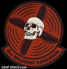 USAF 6th WEAPONS SQUADRON - F-35 -Nellis AFB, NV- ORIGINAL DESERT PATCH