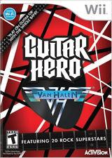 Guitar Hero: Van Halen WII New Nintendo Wii