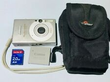 CANON POWERSHOT SD1000 DIGITAL ELPH W/ACCESSORIES - TESTED/WORKING