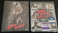 SIN CITY 1 & 2 Blu-Ray SteelBook DAME TO KILL FOR 3D Best Buy Exclusive Sold Out