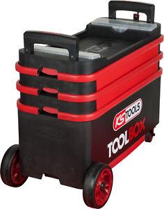 KS TOOLS ToolBox Werkzeugwagen Montagewagen absenkbar verschließbar 895.0015
