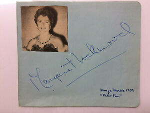 Margaret Lockwood - The Lady Vanishes - The Wicked Lady - Original HS Autograph