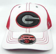 GEORGIA BULLDOGS RED NCAA 2-TONE WHITEBOARD TRUCKER SNAPBACK Z CAP HAT NWT!