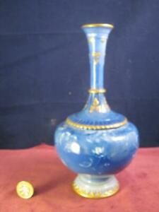 Beautiful Antique Royal Worcester Sabrina Ware Vase  Dated 1895 Shape 1620
