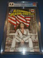 Alexandria Ocasio Cortez  #1 Rare Midtown Variant CGC 9.8 NM/M Gorgeous Gem Wow