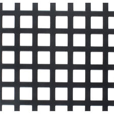 """Flat Metal Grill Pair with 8mm Square Holes - 22"""" x 30"""""""