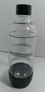 SodaStream Bottle 1L Liter Black Clear