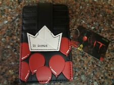 SS Georgie It the Movie Cardholder ID Holder Wallet Pennywise NWT Bioworld