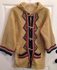 "Vintage 70'S Womens Boho Hippie Southwestern Aztec Ethnic Sweater S Chest 36"""