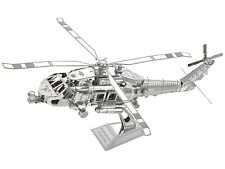 Metal Model Kit 3D Puzzle - US Coast Guard Helicopter