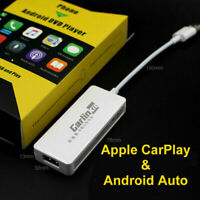 White Carplay Dongle USB Apple Smart Link For Car Android Headunit Navigation AU