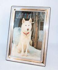 Klassische Deko-Bilderrahmen aus Silber Rahmenlänge 15-30cm