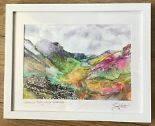 Original watercolour painting Lake District