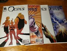Ogres #1, #2, #3 and #4 Source Point Press Lot of 4 Comics