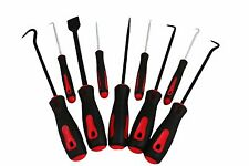 """ABN Precision Scraper Hook and Pick 9-Piece Set 6.5"""" Inch and 10"""" Inch Tools"""