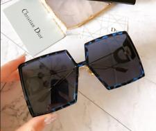New Dior 30MONTAIGNE JBWA9 Sunglasses Blue tortoiseshell Blue Lens Women
