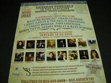 COUNTRY CRUISE w/ LORRIE MORGAN Martina McBride DARRYL WORLEY more 2014 PROMO AD