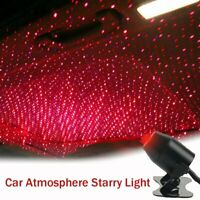USB Car Atmosphere Lamp Interior Ambient Star Light LED Projector Starry Sky New