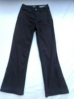 "NYDJ Not Your Daughter's Jeans Brown Gem Embellished Jeans Size 6P 30"" Inseam"