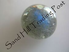 Natural 6mm Round Cut 1.02ct Labradorite Cabochon AAA