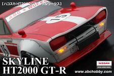 ABC HOBBY RC 1/10 SKYLINE HT2000GT-R BariBari CUSTOM!! Clear Body Drift Kyusya