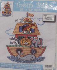 "Tobin Baby 34""x43"" Quilt Kit Noah's Ark, Model No. T21716"