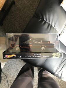 Mattel Hot Wheels 1:24 Batman Classic 60s TV Series Batmobile Vehicle New/sealed