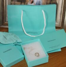 Tiffany & Co 1837 Silver Interlocking Rings Necklace (16 inch chain) NEVER WORN