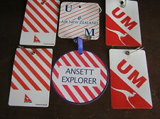 6 kid child minor luggage baggage bag tag airlines airways first business kids