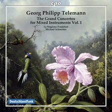 Telemann / La Stagio - Grand Cons for Mixed Instruments 1 [New CD]