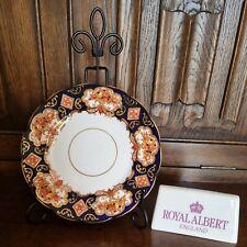 "Art Deco Royal Albert Gilded ""Heirloom"" 16cm Tea or Side Plate Imari Style"