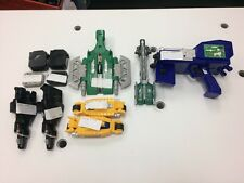Group Lot of Power Rangers Toy Accessories Racing Bullet Garage Launcher