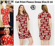Animal Print Short Sleeve Long Jumpers & Cardigans for Women
