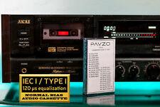 Calibration Cassette Tape for Audio Speed BIAS Wow Flutter Azimuth Test 23 tones