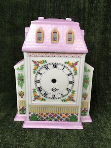 Lenox Village Clock Fine Porcelain 1994