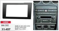 CARAV 11-457 2-Din Marco Adaptador Kit de instalación de radio AUDI A4 SEAT Exeo
