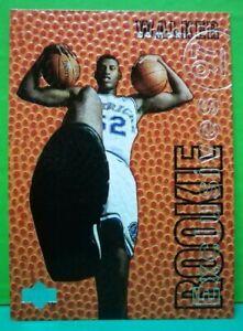Samaki Walker insert card Rookie Exclusives 1996-97 Upper Deck #R8