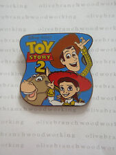 Disney Pixar TOY STORY 2 -NOT DATED VERSION Woody Bullseye Horse Jessie Pin RARE