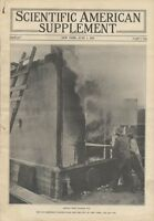 1913 NYC Firefighting Fire Safety Fireproof Construction Buildings New York City