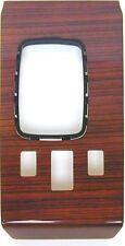 revêtement en bois console de commande Zebrano Adapté pour Mercedes W107
