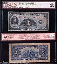 1935  $2  Bank Of Canada   Banknote