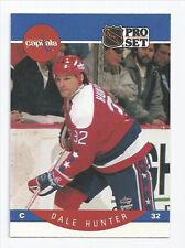 Dale Hunter Capitals 1990-1991 Pro Set #312