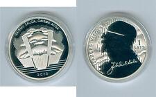 Lettonie 1 Lats 2013 Jazeps Vitols PP argent Seulement 3.000 Pièce