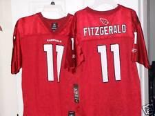 REEBOK Larry Fitzgerald Arizona Cardinals Football Jersey Boys Size 18 / 20 NWT