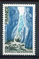 FRANCE 1978, timbre 1996, Les GORGES du VERDUN, neuf**