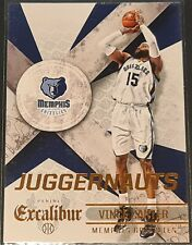 Vince Carter 2014-15 Panini Excalibur JUGGERNAUTS Insert Card (no.23)